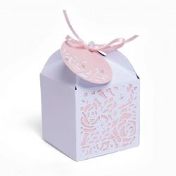 663465 - Sizzix Thinlits Die Set 4PK - Decorative Favour Box by Olivia Rose